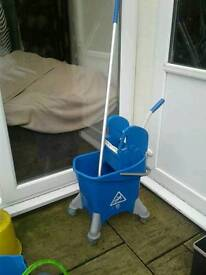 Professional Mop, bucket and press