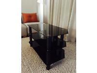Tempered Glass TV Stand - As New