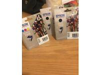 Epson colour T005 and 2*black T003