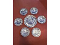 Blue Italian Plates
