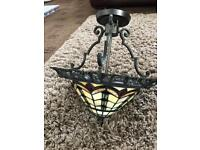 Superb Large Tiffany Falling Water ceiling lamp