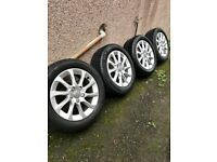 Genuine 2014 Audi A3 16inch Alloy wheels with tyres