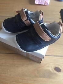 Brand new boys Clark shoes