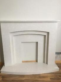 Pure Marble fireplace £220 ONO