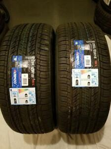 2 BRAND NEW ALTENZO SPORT NAVIGATOR 255/55/18 R18 109V PERFORMANCE TIRES