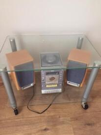 CD player & trolley
