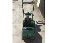 Atco Balmoral 14s Petrol cylinder Lawnmower With grassbox