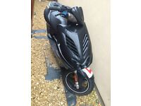 Yamaha airrox Needs new exhaust and 1 panel cracked (doesn't effect use) 50cc