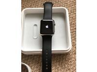 Apple Watch 42 stainless steel (Ser 1)