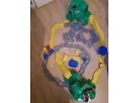Little Tykes train and road track, 2 sets included, with extra track in good clean condition.
