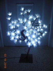 LED light-up BLOSSOM TREE decoration / lamp
