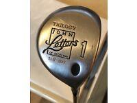 John Letters Trilogy 1 Golf Driver 11.5 degree, boron graphite shaft