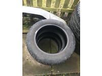 175/65/15 x3 tyres
