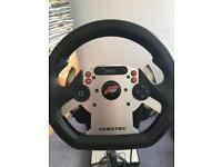 Fanatec CSR racing wheel, Elite pedals & Wheel Stand Pro PC, PS3 & Xbox