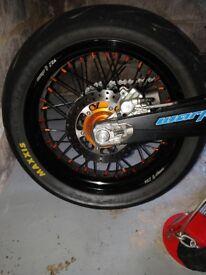 Warp 9 super Moto wheels