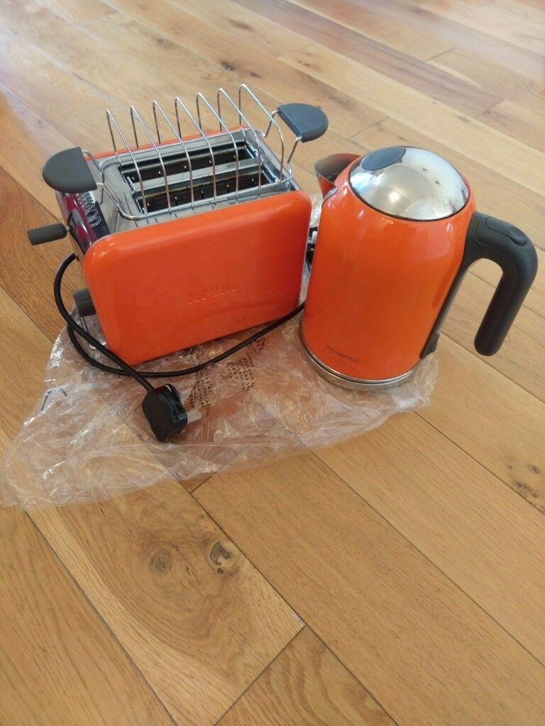 kenwood kmix orange kettle toaster in newport gumtree. Black Bedroom Furniture Sets. Home Design Ideas