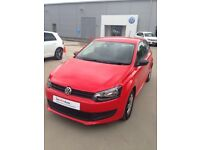 Vw Polo 60ps 1.2 3DR RED LOW MILEAGE