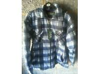Mens padded shirt