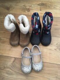 Size 6 Boots and shoes