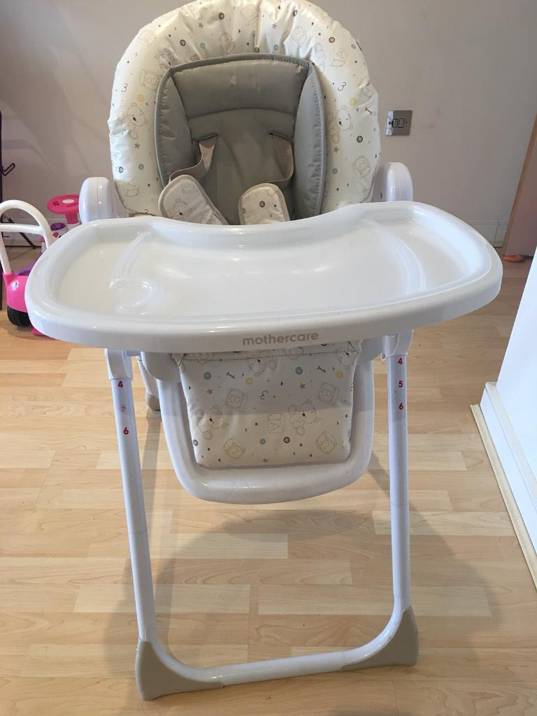 be2e9f45a6d Mothercare teddy got box high chair - excellent condition - £20