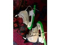 Nike ice hockey skates, size 6.5