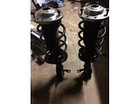 Vectra c struts springs top mounts suspension brand new