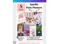 'Sparkle party planners' children's party planning services