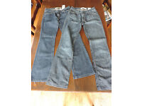 Two Pairs of Ladies Boot Cut Jeans from Gap