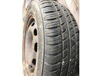 5x100 vw steel wheels alloy
