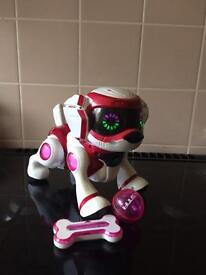 Teksta puppy robot
