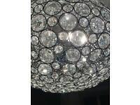 John Lewis crystal orb pendant