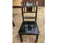 Oriental Style Dressing Table with chair & mirror