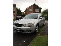 Kia Cerato for sale. Excellent condition for the year. MOT'D till end of the month. Make on offer.