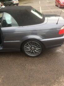 BMW 330 ci convertible low miles