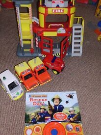 Tonka fire rescue station