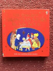 Christmas jigsaw puzzle book