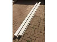 2 brand new 8ft mid concrete posts & 5 postmix
