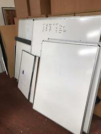 Dry White Boards - Lightly Used