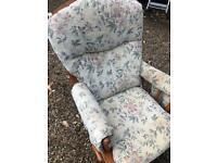 Glider / rocking chair by DUTAILLIER