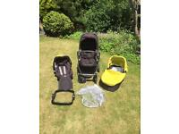 Graco EVO Travel System - pushchair, carry cot and car seat