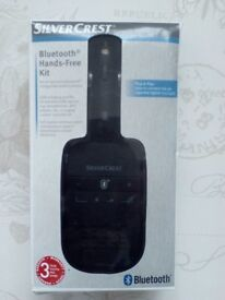 Brand new SilverCrest Bluetooth Hands Free Kit only £15
