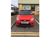 Ford Fiesta 30th anniversary special addition full leather interior 1.6