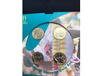 Comman wealth games £2 pound coins. 2002