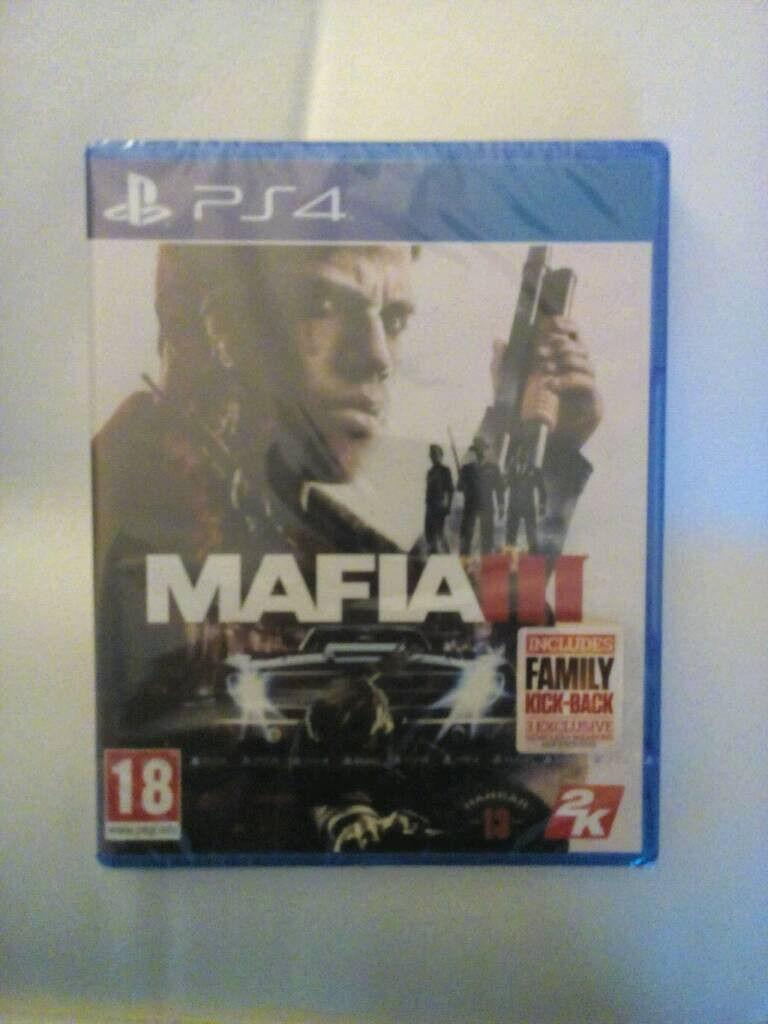 Mafia 3 PS4 (New/Sealed)