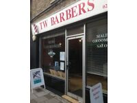 BARBER SHOP FOR SALE in london-richmond(£40k)