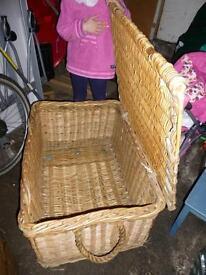 Original Stevensons Laundry basket with rope handles