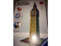3D puzzle of Big Ben BRAND NEW