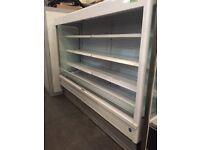 Integral Open / Multideck Chiller Commercial Refrigeration Cabnet Fridge