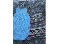 2 Ladies/Teens Summer Dresses. Size 10. £4. Torquay or can post.