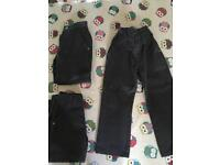 NEXT Boys Age 4 school trousers